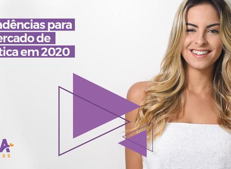 7 tendências para o mercado de estética em 2020