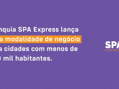 Franquia SPA Express lança nova modalidade de negócio para cidades com menos de 300 mil habitantes