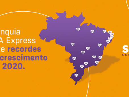 SPA Express bate recordes de crescimento em 2020