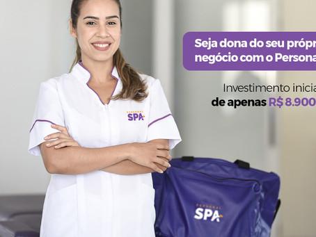 Seja dona do seu próprio negócio com o Personal SPA!