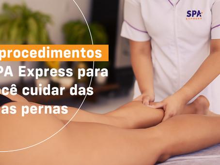 Cuidados com as pernas: SPA Express oferece 5 procedimentos que ajudam no dia a dia
