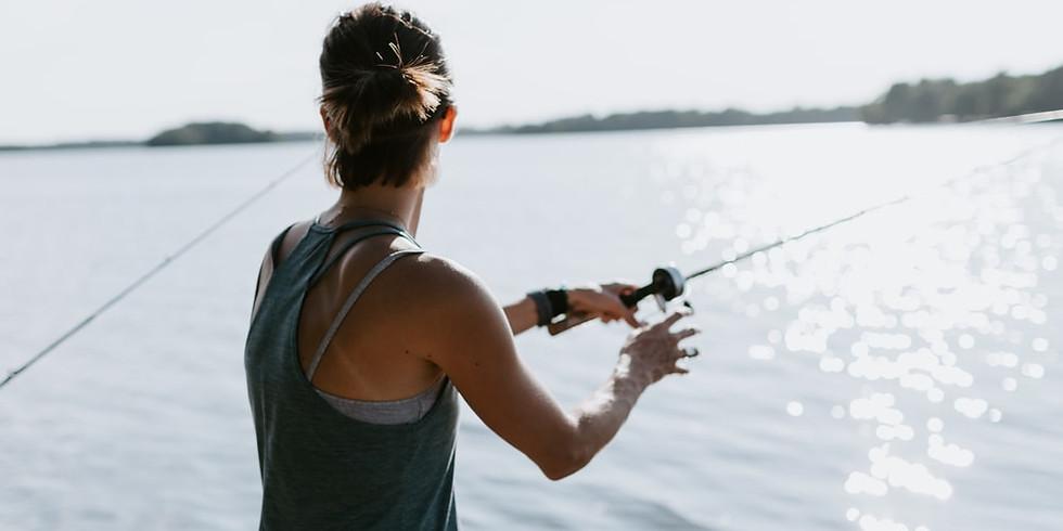 Fish and Camp at Shabbona Lake