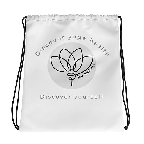 Discover Yourself Drawstring bag
