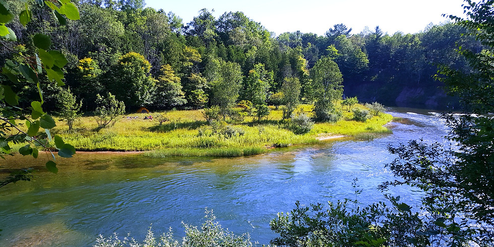 Manistee River Water and Land Adventure-Lower Michigan