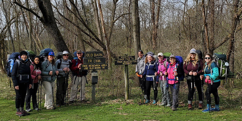 Beginners Backpacking Bootcamp - Illinois