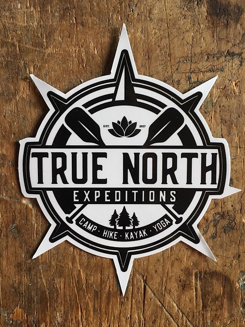 True North Logo Decal