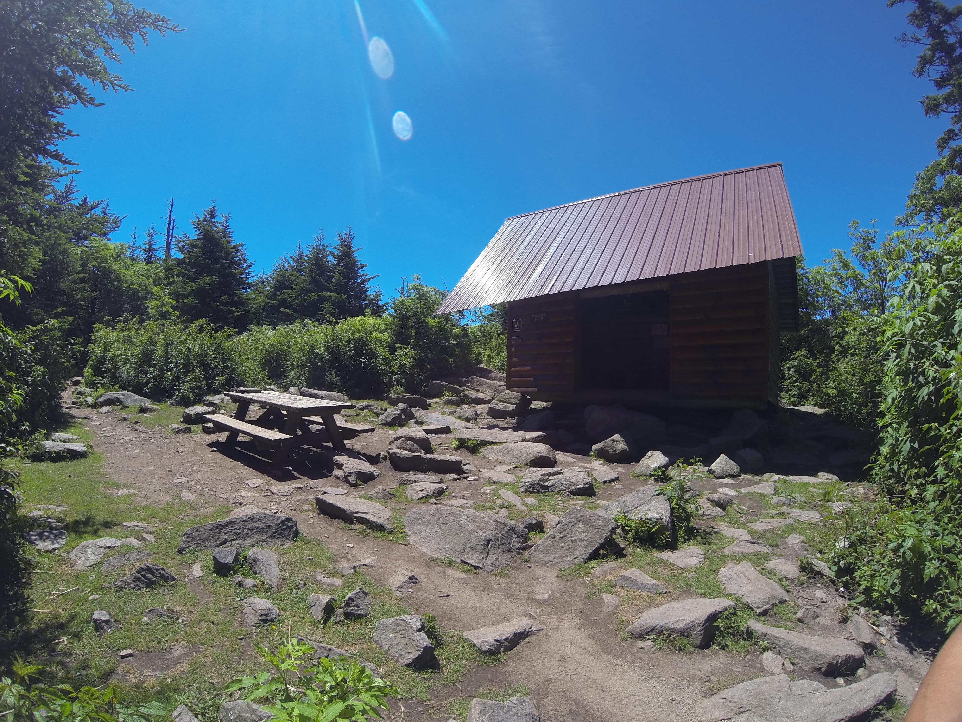 Thunder Mountain Shelter-Mt. Rogers