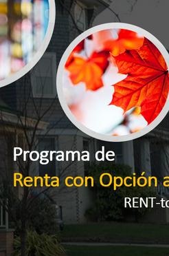 Renta con Opción de Compra en Canadá (Rent-to-Own Program)