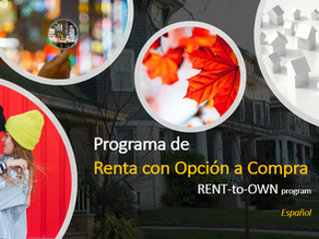 Renta con Opción de Compra en Canadá (Rent-to-Own Program)