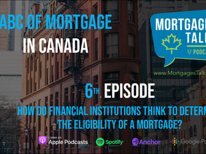 6th Episode - How do Financial Institutions think to determine the eligibility of a mortgage?