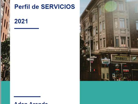 Services Profile - Perfil de Servicios / Mortgages Architects -Adan Aranda - Mortgage Planner