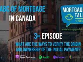3rd. Episode - Verifying your down payment