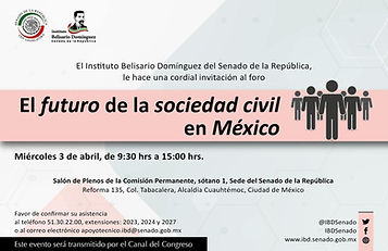 FORO FUTURO DE LA SOC CIVIL EN MEXICO.jp