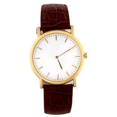 Gold Rim Watch