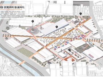근대도시건축 디자인 공모전 대상(김병수, 이준희, 이민혁)