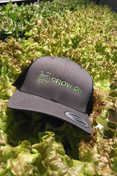 Grow On Greenhouse Hat ( snap fit sizing )