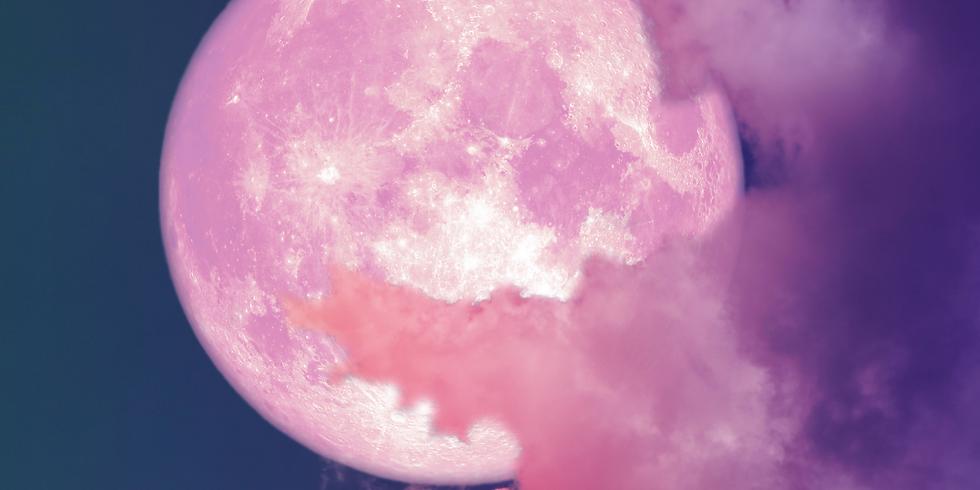Super Pink Full Moon in Scorpio