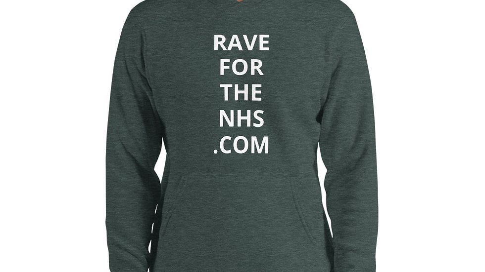 Rave for the NHS - Unisex hoodie