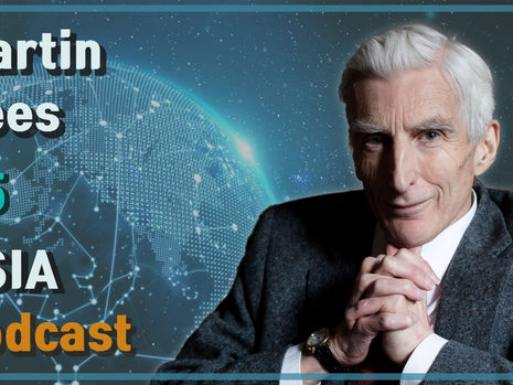 Martin Rees: On the Future of Humanity & Artificial Intelligence | USIA Podcast #5