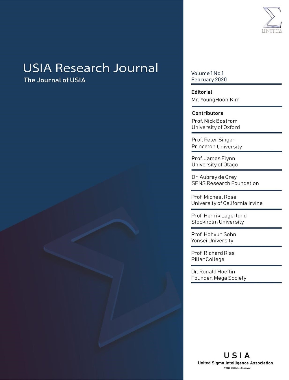 USIA Journal Cover Final