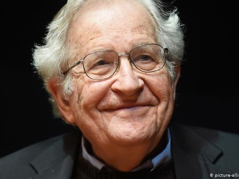 Noam Chomsky Named 2021 United Sigma Intelligence Association Award Winner