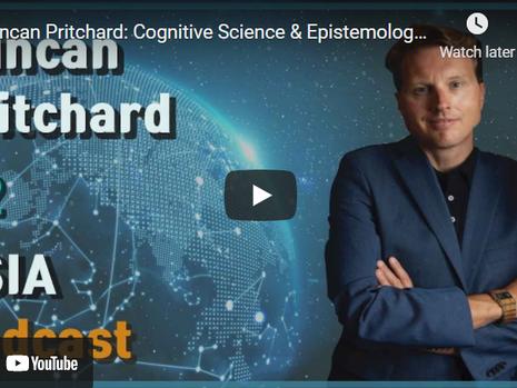 Duncan Pritchard: Philosophy, Epistemology, Scepticism | USIA Podcast #2