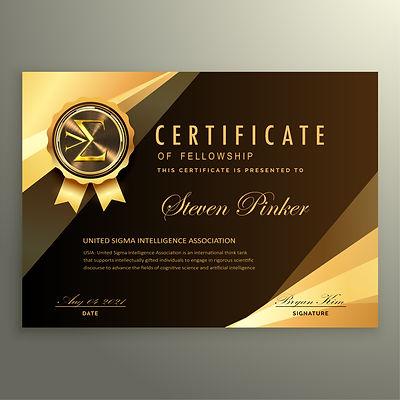 USIA Fellowship Certificate Steven Pinker.jpg