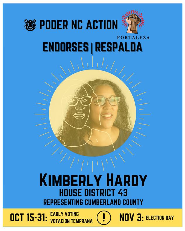 Kimberly Hardy | House District 14 | North Carolina | Representing Cumberland County
