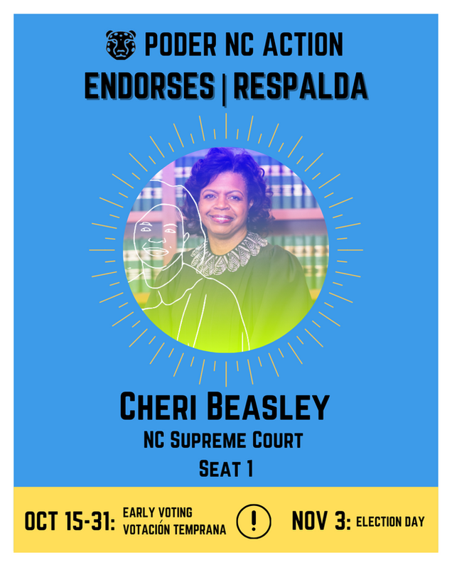 Cheri Beasley | North Carolina Supreme Court | Seat 1