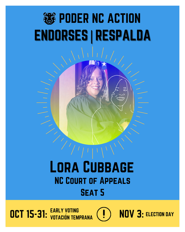 Lora Cubbage | North Carolina Court of Appeals | Seat 5