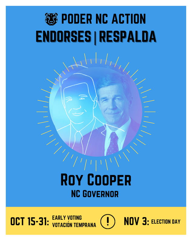 Roy Cooper | North Carolina Governor