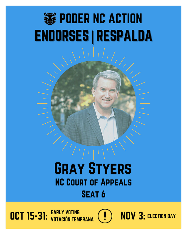 Gray Styers | North Carolina Court of Appeals | Seat 6