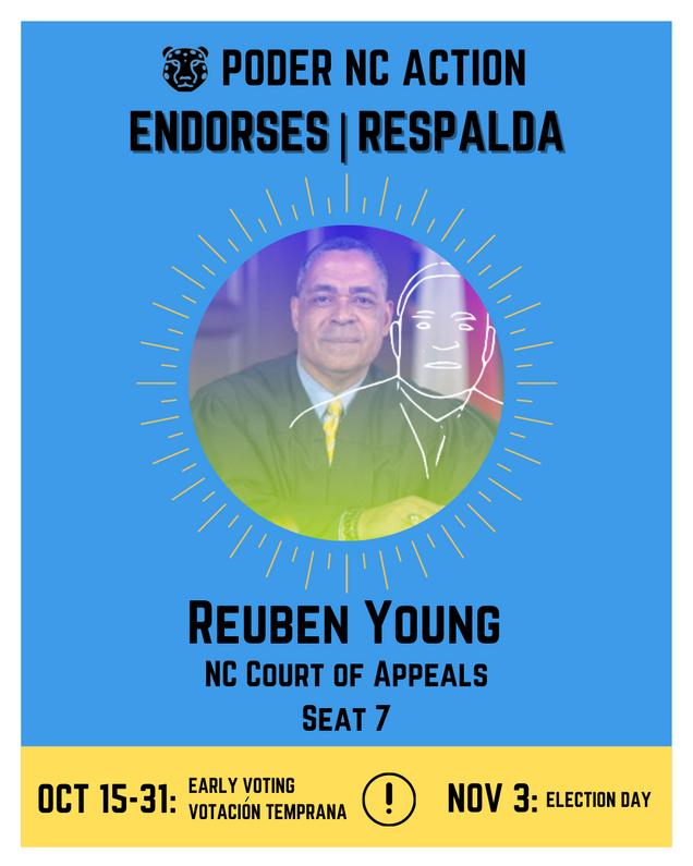 Reuben Young | North Carolina Court of Appeals | Seat 7