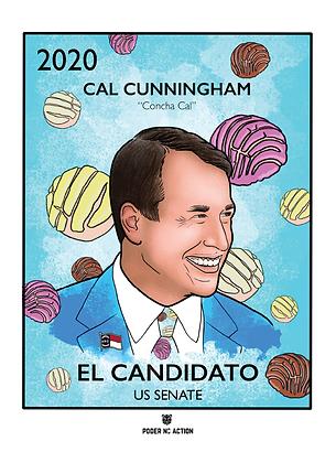 El Candidato: Cal Cunningham