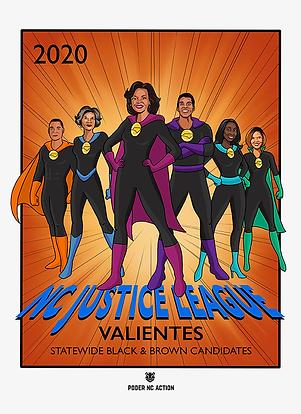 NC Justice League: Valientes