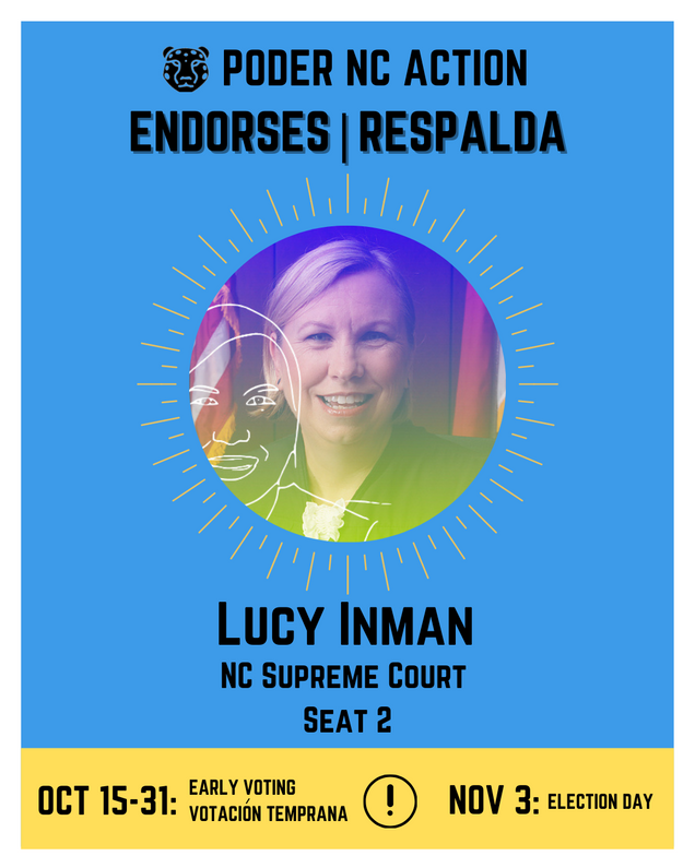Lucy Inman | North Carolina Supreme Court | Seat 2