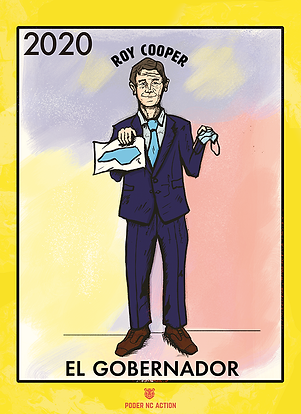 El Gobernador: Roy Cooper