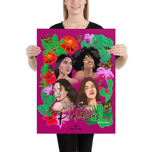 Juntas Somos Poderosas - Print w/out border (two sizes)