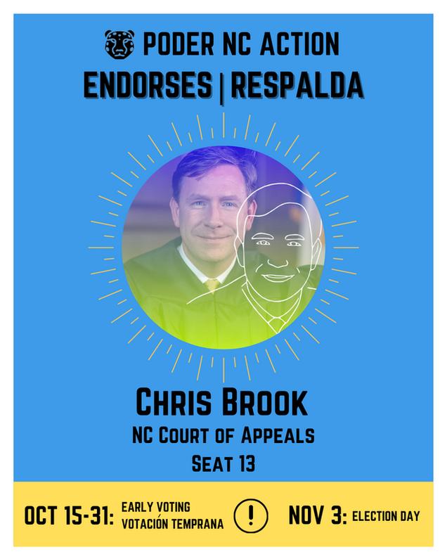 Chris Brook | North Carolina Court of Appeals | Seat 13