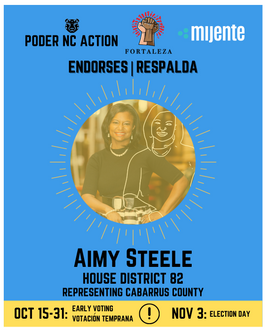 Aimy Steele | House District 82 | North Carolina | Representing Cabarrus County