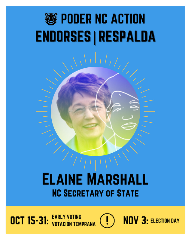 Elaine Marshall | North Carolina Secretary of State