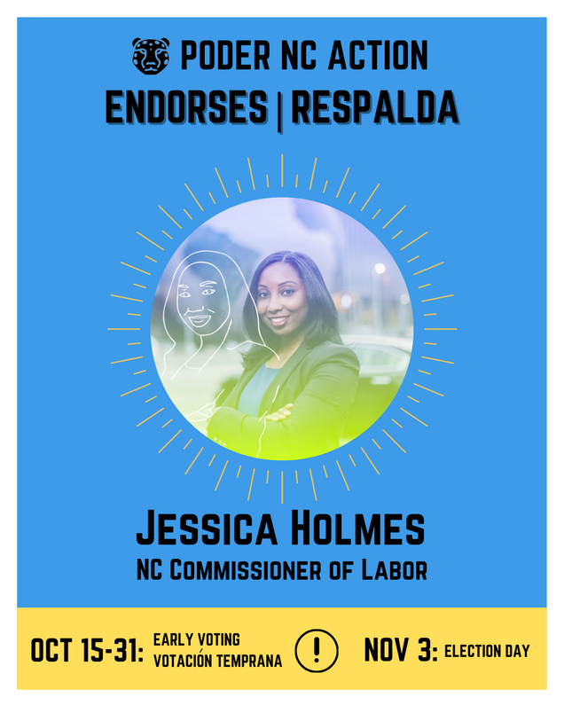 Jessica Holmes | North Carolina Commissioner of Labor