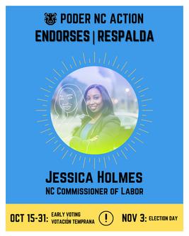 Jessica Holmes | North Carolina Commissioner of Labor