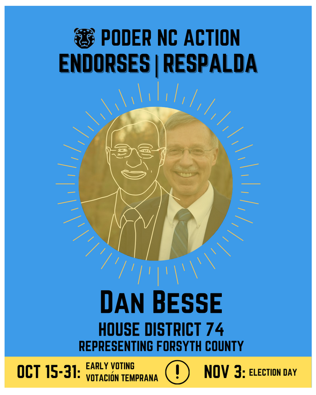 Dan Besse | House District 74 | North Carolina | Representing Forsyth County