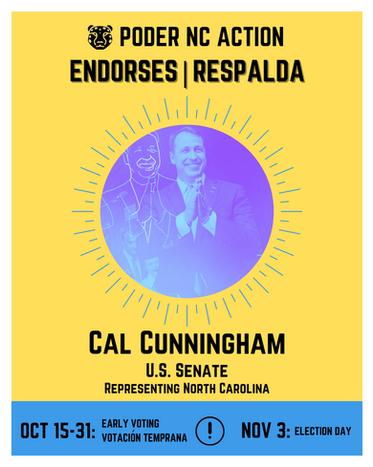 Cal Cunningham | U.S. Senate | North Carolina