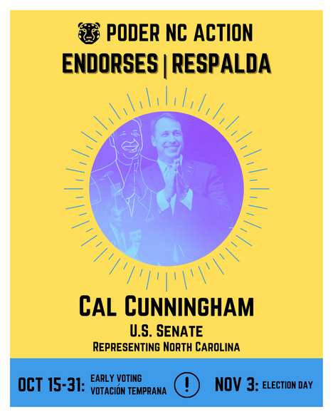 Cal Cunningham | U.S. Senate | North Carolina