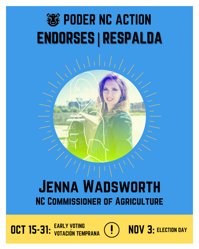 Jenna Wadsworth | North Carolina Commissioner of Agriculture
