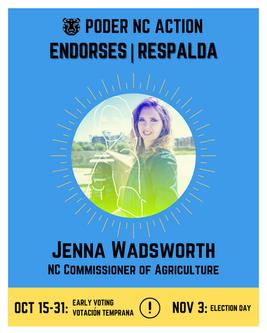 Jenna Wadsworth | North Carolina Commissioner of Agriculture