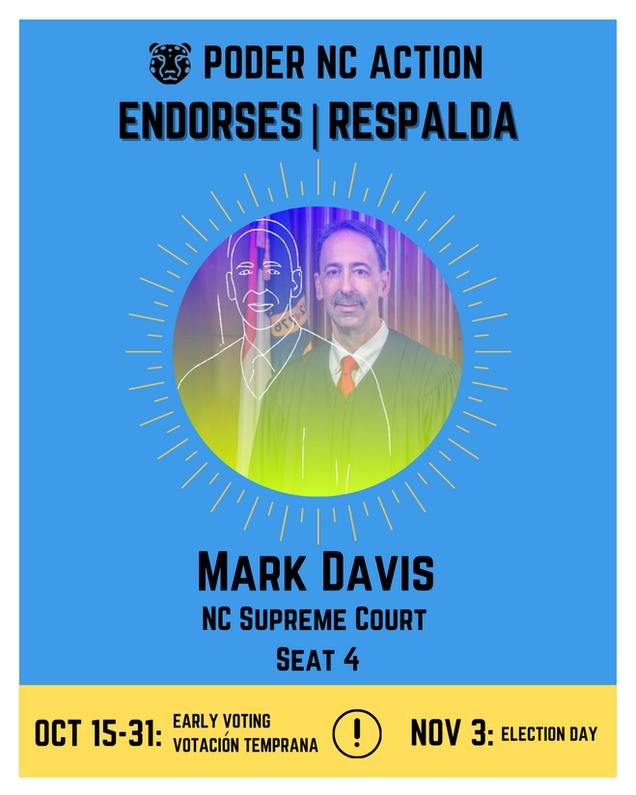 Mark Davis | North Carolina Supreme Court | Seat 4