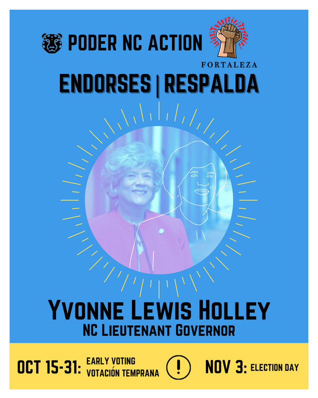 Yvonne Lewis Holley | North Carolina Lieutenant Governor